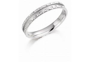 UNISEX PALLADIUM 950 WEDDING RING REF:GP3420