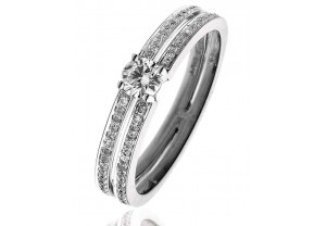 LADIES MULTI-STONE DIAMOND RING     0.45CT   REF:GP3025