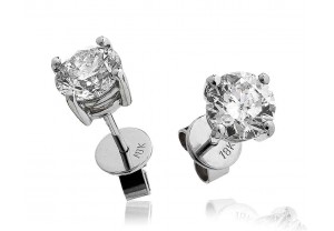 LADIES DIAMOND STUD EARRINGS FROM 0.20CT TO 2.00CT REF:GP134