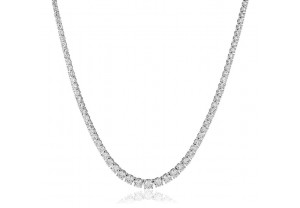 LADIES DIAMOND NECKLACE FROM 6.00CT TO 20.00CT REF:GP392