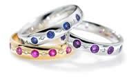 Coloured Stone Jewellery