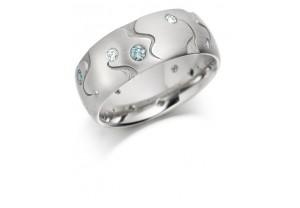 LADIES FANCY COLOURED DIAMOND RING REF:GP2947
