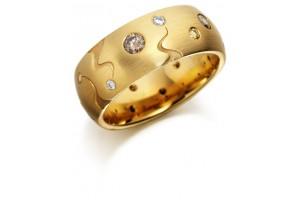 LADIES FANCY COLOUR DIAMOND RING REF:GP2946