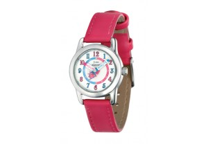 D For Diamond Watch With Fuschia Strap (deep pink) REF:GP4135