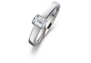 LADIES EMERALD CUT DIAMOND  RING 0.33CT REF:GP2111