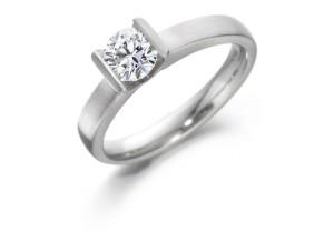 LADIES ROUND BRILLIANT DIAMOND  RING 0.50CT  REF:GP2113