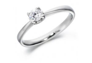 LADIES ROUND BRILLIANT CUT DIAMOND RING  0.25CT  REF:GP2103