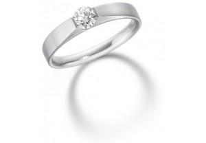 LADIES ROUND BRILLIANT DIAMOND RING 0.33CT  GP:2106