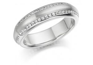 LADIES FULL ETERNITY ROUND BRILLIANT CUT DIAMOND RING 0.50CT REF:GP2742
