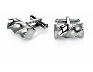 Stainless Steel twist cufflinks REF:GP4254