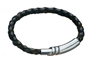 LEATHER CORD AND BM MAGNECTIC CLASP BRACELET REF:GP2470