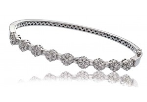 LADIES   DIAMOND BANGLE 1.85CT REF:GP669