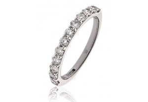 LADIES 0.65CT ROUND BRILLIANT DIAMOND RING REF:GP182