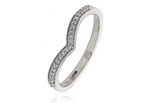 LADIES MULTI-STONE ROUND BRILLIANT CUT DIAMOND RING 0.10CT GP1007