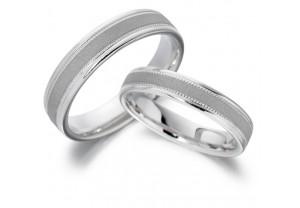 LADIES MATT WEDDING RING REF:GP2160