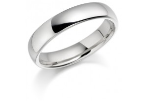 LADIES PLATINUM WEDDING RING REF:GP3416