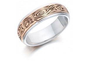 GENTS PATTERNED RING REF:GP2904