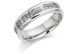 GENTS PATTERNED RING REF:GP2907