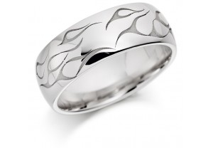 GENTS PATTERNED RING REF:GP2898