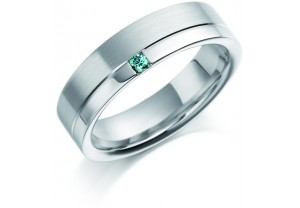 GENTS COLOURED DIAMOND RING 0.05CT REF:GP2914