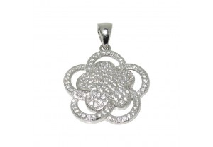 DIAMONESQUE SILVER PENDANT REF:GP3196