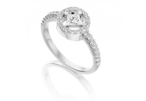 VINTAGE STYLE DIAMOND ENGAGEMENT & WEDDING RING SETS 0.63CT - REF:GP2418