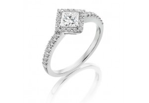 VINTAGE STYLE DIAMOND ENGAGEMENT & WEDDING RING SETS 0.75CT - REF:GP2420