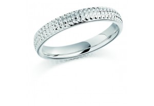 LADIES PATTERNED WEDDING RING REF:GP2238