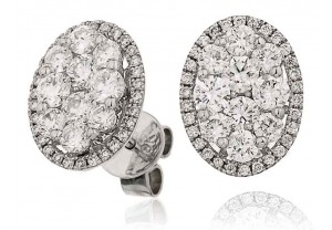 LADIES  DIAMOND EARRINGS  1.50CT REF:GP1024