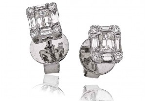 LADIES DIAMOND EARRINGS 1.00CT REF:GP1065