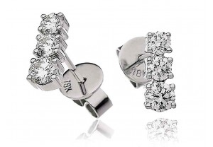 LADIES DIAMOND EARRINGS 0.60CT  REF:GP174