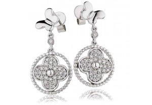 LADIES  DIAMOND EARRINGS  0.50CT REF:GP1202