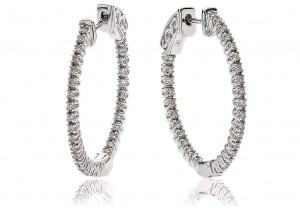 LADIES  DIAMOND EARRINGS 0.40CT REF:GP1171