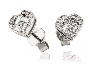 LADIES DIAMOND EARRINGS     0.40CT     REF:GP539