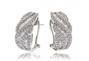 LADIES DIAMOND EARRINGS  2.00CT   REF:GP533