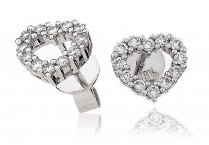 LADIES DIAMOND EARRINGS  0.33CT REF:GP543